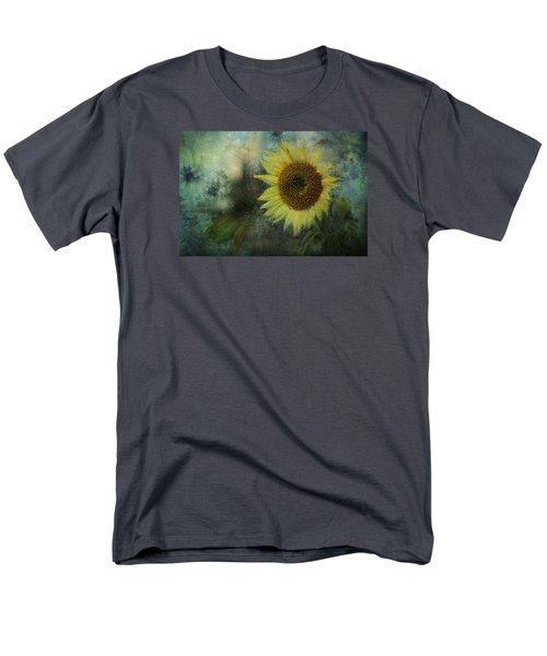 Sunflower Sea Men's T-Shirt  (Regular Fit) by Belinda Greb