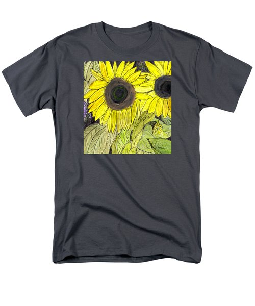 Sunflowers Men's T-Shirt  (Regular Fit)