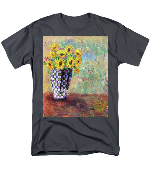 Sunflowers Warmth Men's T-Shirt  (Regular Fit) by Haleh Mahbod