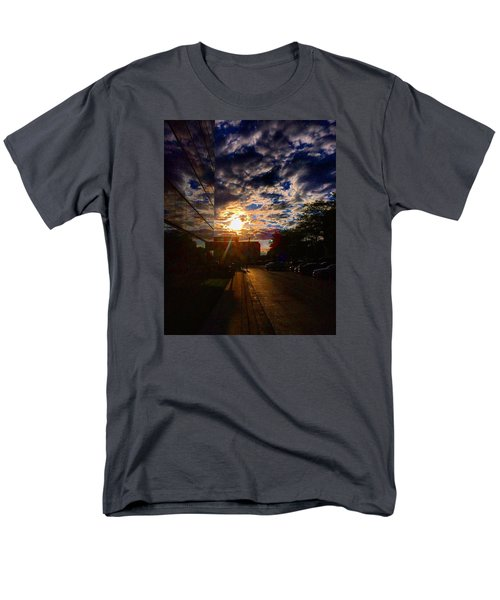 Sunlit Cloud Reflection Men's T-Shirt  (Regular Fit) by Nick Heap