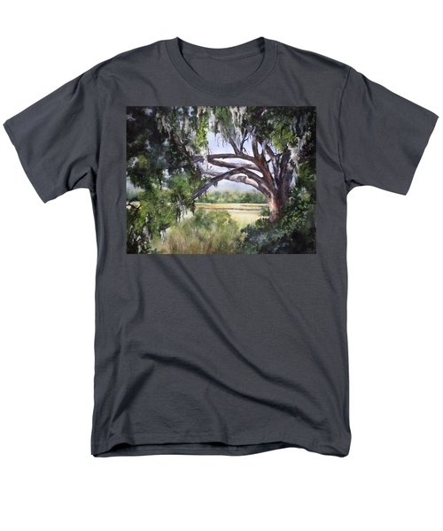Sunlit Marsh Men's T-Shirt  (Regular Fit)