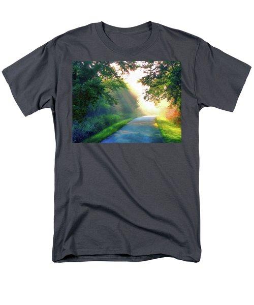 Sunny Trail Men's T-Shirt  (Regular Fit) by Cedric Hampton