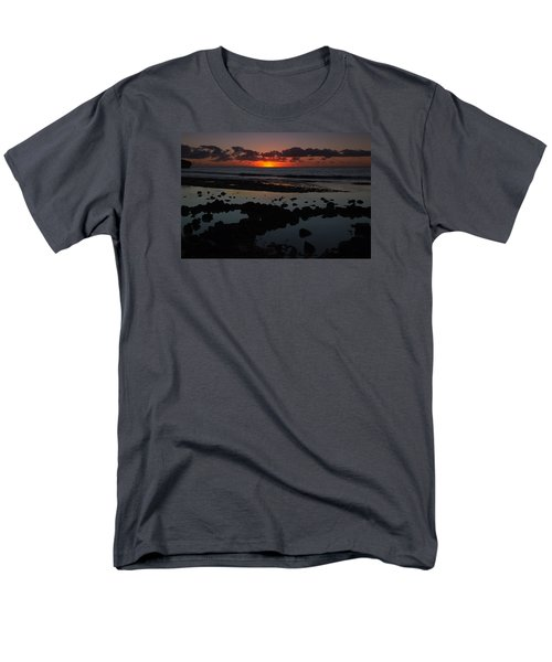 Sunrise At Shipwreck Beach Men's T-Shirt  (Regular Fit) by Roger Mullenhour
