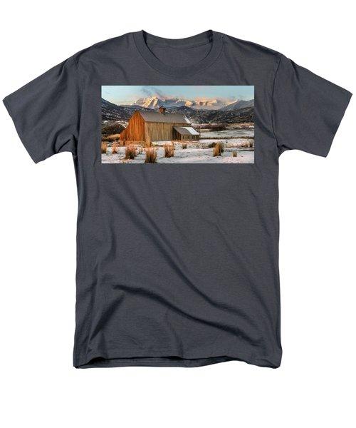 Sunrise At Tate Barn Men's T-Shirt  (Regular Fit)