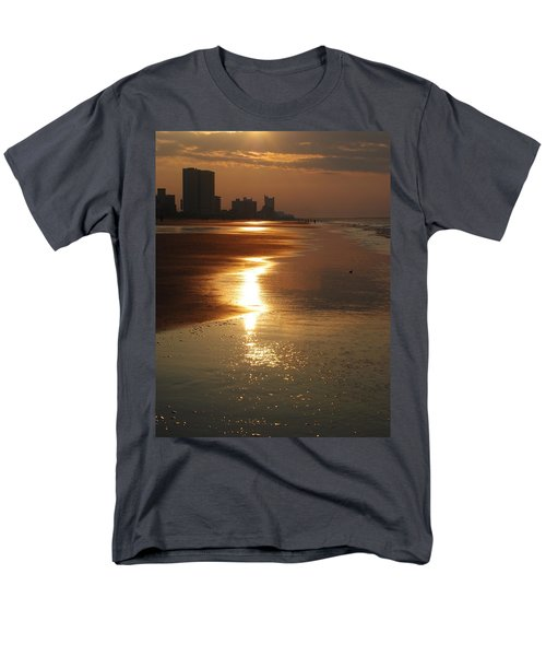 Sunrise At The Beach Men's T-Shirt  (Regular Fit) by Eric Liller