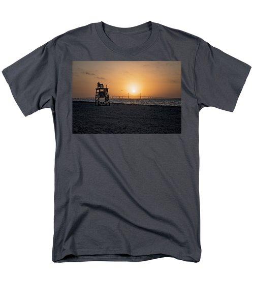 Sunrise At The Skyway Bridge Men's T-Shirt  (Regular Fit) by Michael White