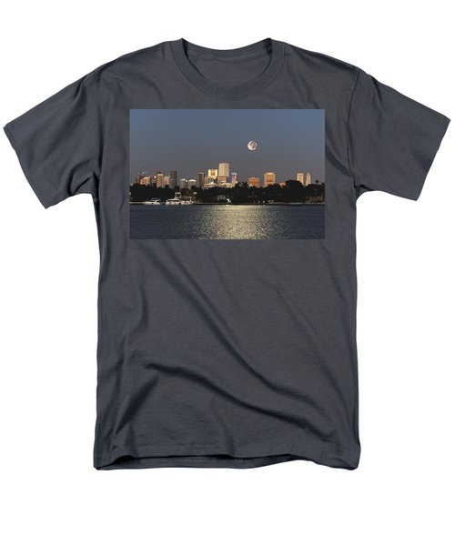Sunrise Moon Over Miami Men's T-Shirt  (Regular Fit)