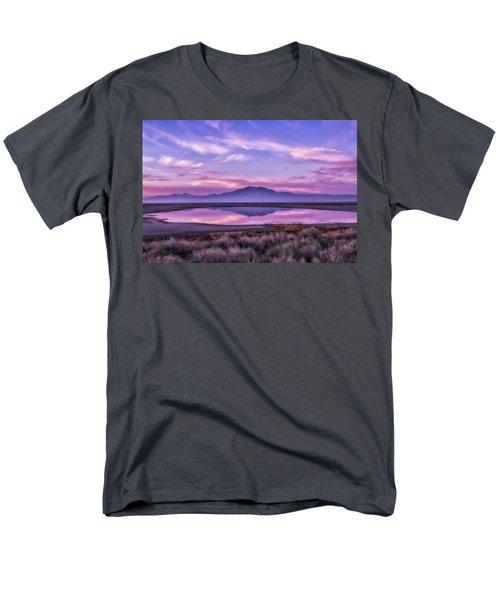 Sunrise On Antelope Island Men's T-Shirt  (Regular Fit) by Kristal Kraft