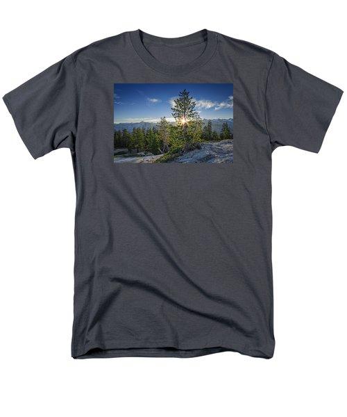 Sunrise On Sentinel Dome Men's T-Shirt  (Regular Fit) by Rick Berk
