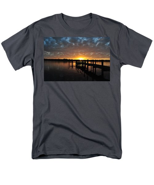Sunrise On The Bayou Men's T-Shirt  (Regular Fit) by Michele Kaiser