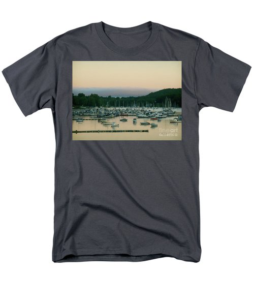 Sunrise Over Mallets Bay Variations - Three Men's T-Shirt  (Regular Fit) by Felipe Adan Lerma