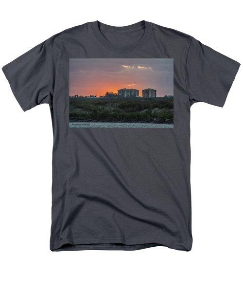 Sunrise Over The Intracoastal Men's T-Shirt  (Regular Fit) by Nance Larson