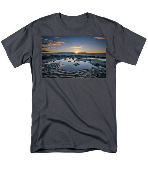 Men's T-Shirt  (Regular Fit) featuring the photograph Sunrise Over Wells Beach by Rick Berk
