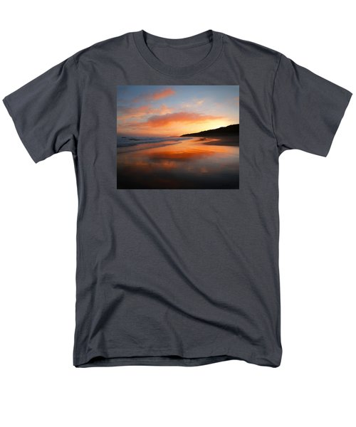 Men's T-Shirt  (Regular Fit) featuring the photograph Sunrise Reflection by Roy McPeak