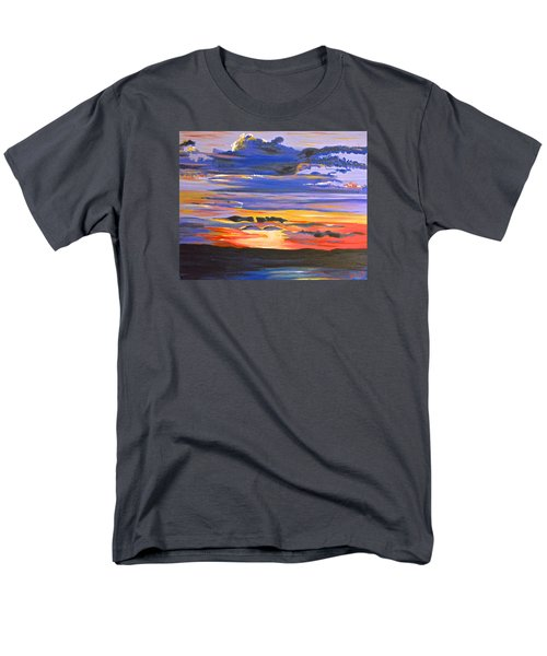 Sunset #5 Men's T-Shirt  (Regular Fit) by Donna Blossom