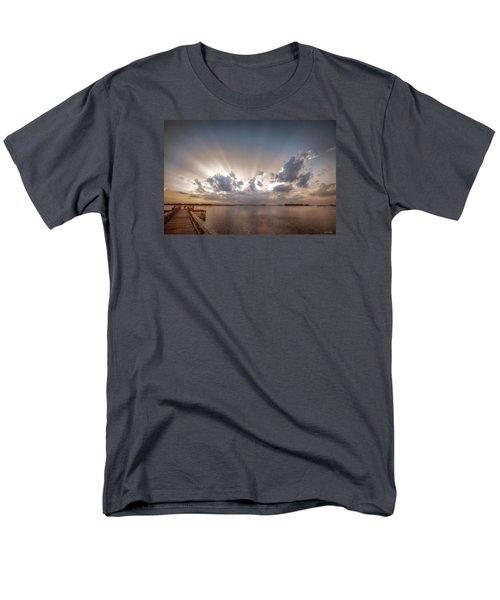 Sunset Aftermath Men's T-Shirt  (Regular Fit) by Phil Mancuso