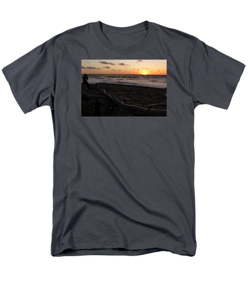 Sunset At Cap Rouge Men's T-Shirt  (Regular Fit) by Joel Deutsch