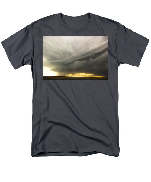 Men's T-Shirt  (Regular Fit) featuring the photograph Sunset At Dalhart Texas by Ryan Crouse