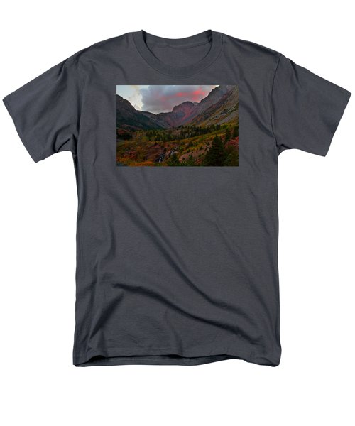 Sunset At Lundy Canyon During Autumn In The Eastern Sierras Men's T-Shirt  (Regular Fit) by Jetson Nguyen