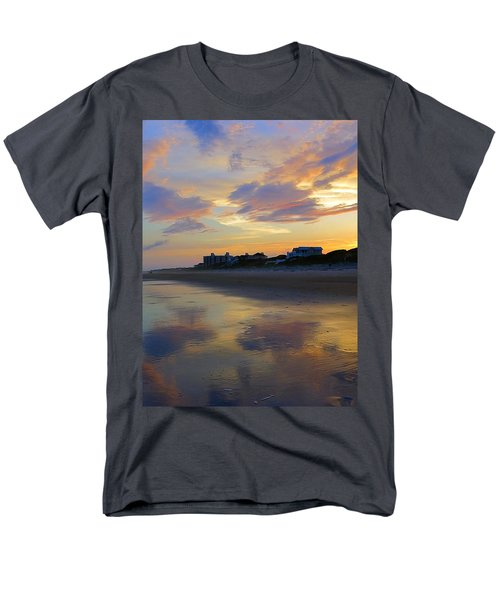 Sunset At The Beach Men's T-Shirt  (Regular Fit) by Betty Buller Whitehead