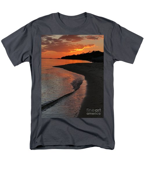 Sunset Bay Men's T-Shirt  (Regular Fit) by Lori Mellen-Pagliaro