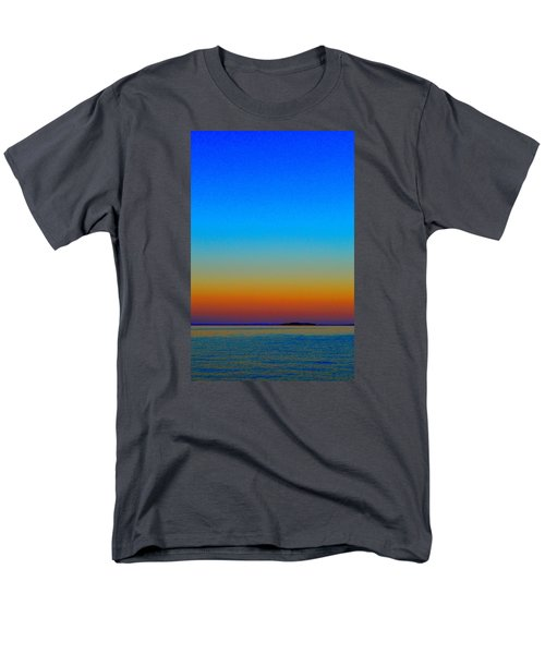 Men's T-Shirt  (Regular Fit) featuring the photograph Sunset Blend South East 3  by Lyle Crump