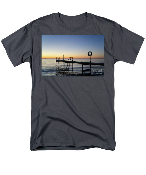 Sunset By The Old Bath Pier Men's T-Shirt  (Regular Fit) by Kennerth and Birgitta Kullman