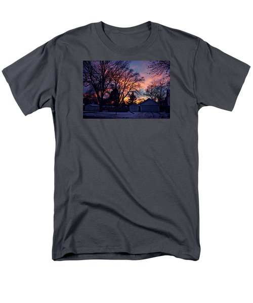 Sunset From My View Men's T-Shirt  (Regular Fit) by Kathy M Krause