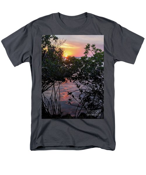 Sunset, Hutchinson Island, Florida  -29188-29191 Men's T-Shirt  (Regular Fit)