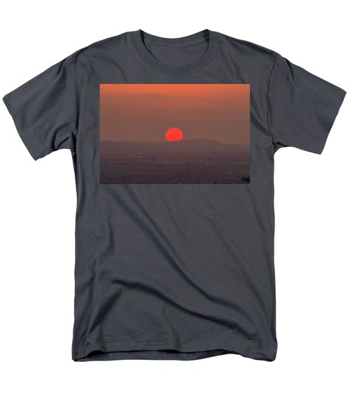 Sunset In Smog Men's T-Shirt  (Regular Fit) by Hyuntae Kim