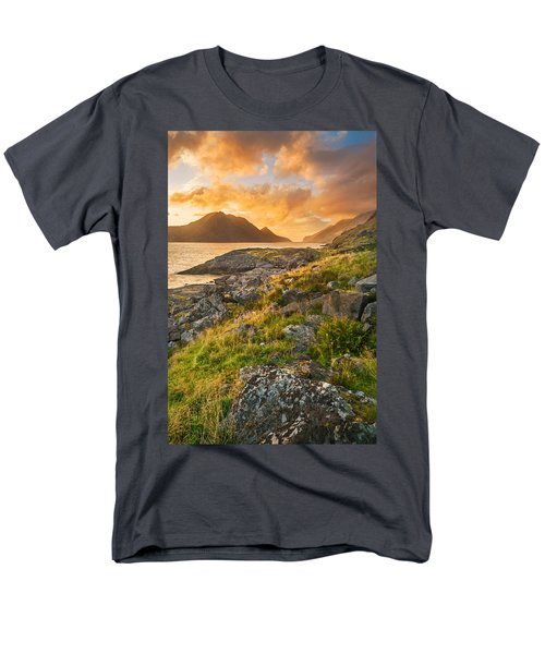 Sunset In The North Men's T-Shirt  (Regular Fit)