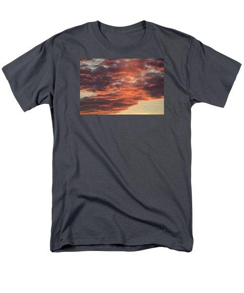 Sunset On Hunton Lane #10 Men's T-Shirt  (Regular Fit) by Carlee Ojeda