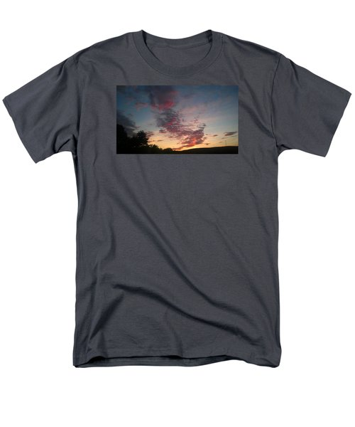 Men's T-Shirt  (Regular Fit) featuring the photograph Sunset On Hunton Lane #11 by Carlee Ojeda