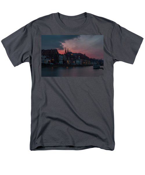 Sunset Over Bamberg Men's T-Shirt  (Regular Fit) by Photo Escape