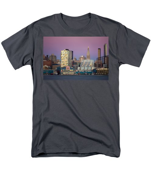 Men's T-Shirt  (Regular Fit) featuring the photograph Sunset Over Chelsea by Eduard Moldoveanu