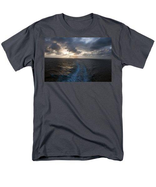 Men's T-Shirt  (Regular Fit) featuring the photograph Sunset Over Fort Lauderdale by Allen Carroll