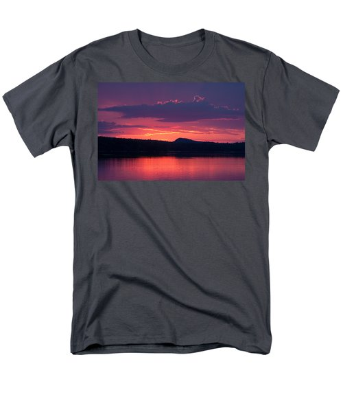 Sunset Over Sabao Men's T-Shirt  (Regular Fit) by Brent L Ander