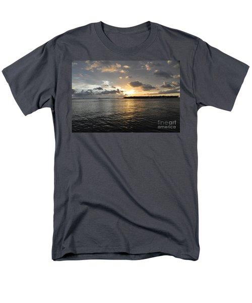 Sunset Over Sunset Key Men's T-Shirt  (Regular Fit) by John Black