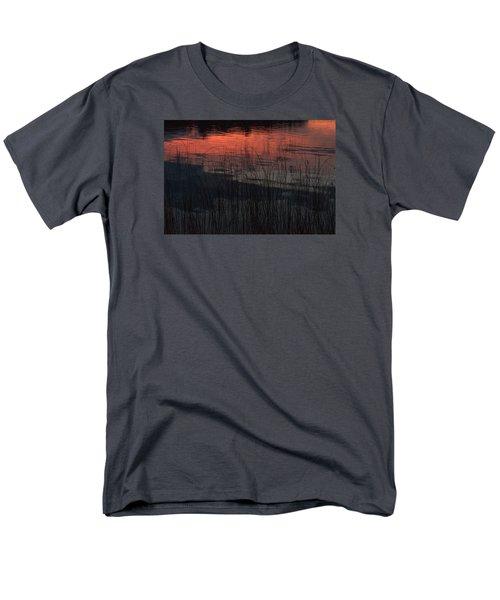 Sunset Reeds Men's T-Shirt  (Regular Fit) by Gary Eason