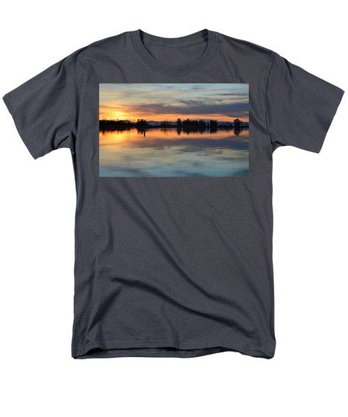 Sunset Reflections Men's T-Shirt  (Regular Fit) by AJ Schibig