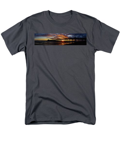 Men's T-Shirt  (Regular Fit) featuring the photograph Sunset  by Thanh Thuy Nguyen