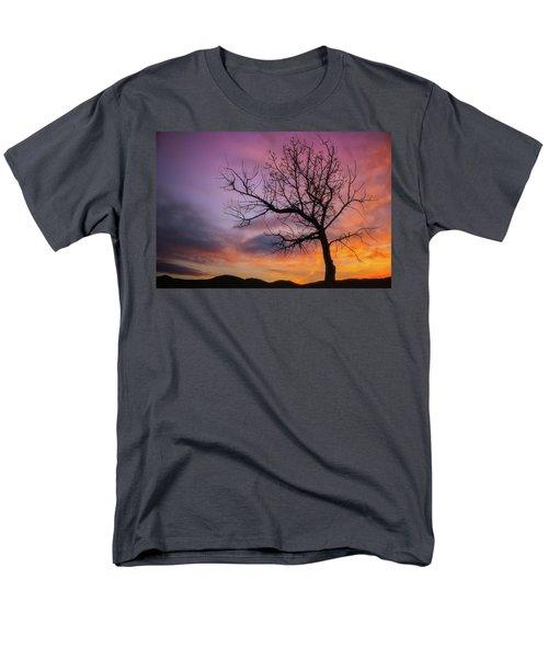 Sunset Tree Men's T-Shirt  (Regular Fit) by Darren White