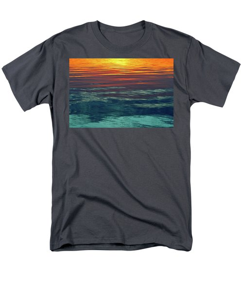 Sunset Water  Men's T-Shirt  (Regular Fit) by Lyle Crump