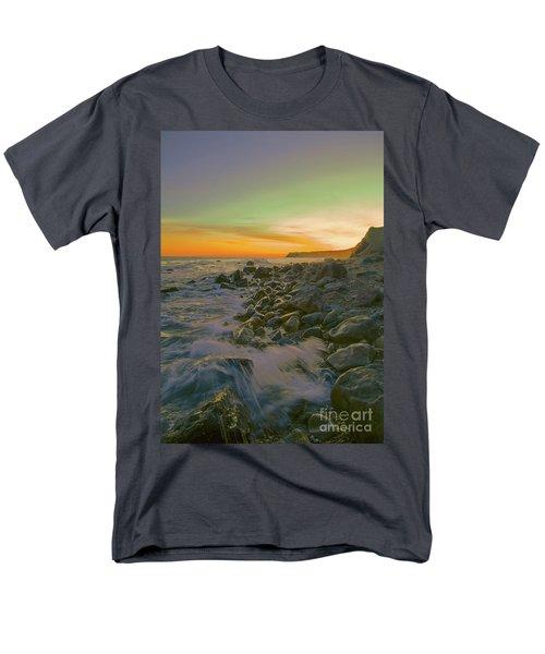 Sunset Waves Men's T-Shirt  (Regular Fit) by Todd Breitling