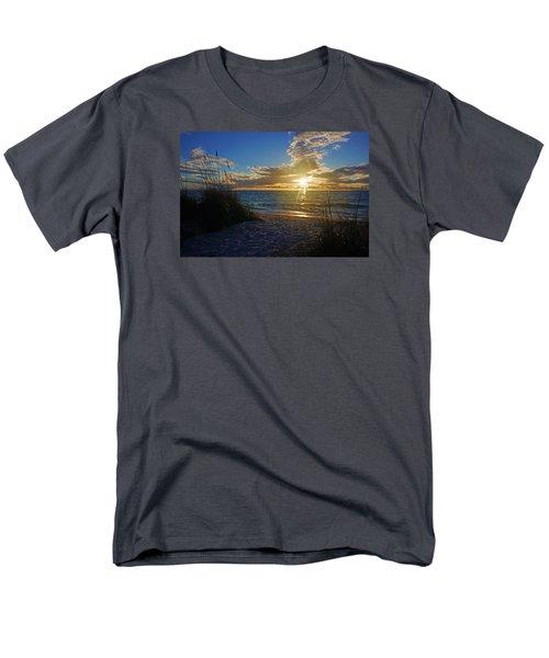 Sunset Windsurfer Men's T-Shirt  (Regular Fit) by Robb Stan