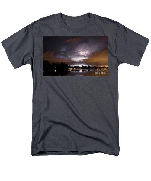 Sunsplash Nights Men's T-Shirt  (Regular Fit) by Quinn Sedam