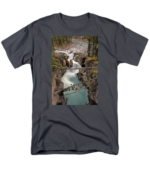Sunwapta Falls Men's T-Shirt  (Regular Fit) by John Gilbert