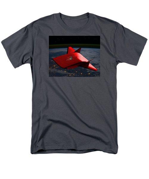 Men's T-Shirt  (Regular Fit) featuring the digital art Super Sleigh by Walter Chamberlain