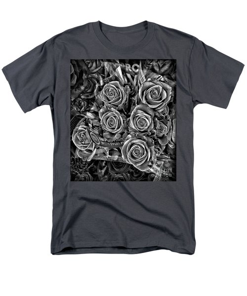 Supermarket Roses Men's T-Shirt  (Regular Fit) by Walt Foegelle
