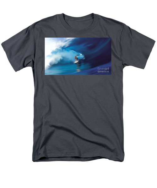 Surfers Playground Men's T-Shirt  (Regular Fit) by Anthony Fishburne